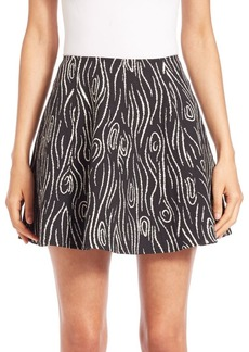 Opening Ceremony Laurel Jacquard Dakota Skirt