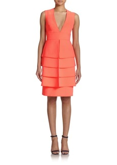 Opening Ceremony Layered Peplum Dress