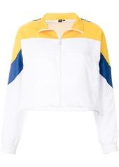 Opening Ceremony logo sleeve zip jacket - White
