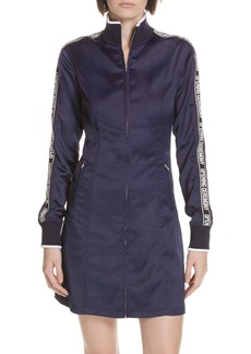 Opening Ceremony Logo Stretch Satin Track Dress (Limited Edition)