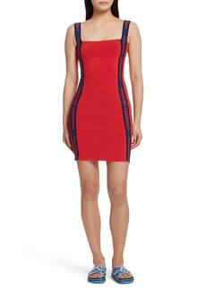 Opening Ceremony Logo Tape Ribbed Body-Con Dress (Limited Edition)
