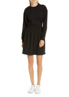 Opening Ceremony Long Sleeve Fleece Minidress