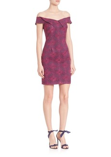 Opening Ceremony Medallion Jacquard Mini Dress