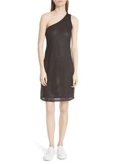 Opening Ceremony One-Shoulder Mesh Dress