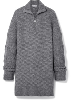 Opening Ceremony Oversized cable-knit wool-blend sweater
