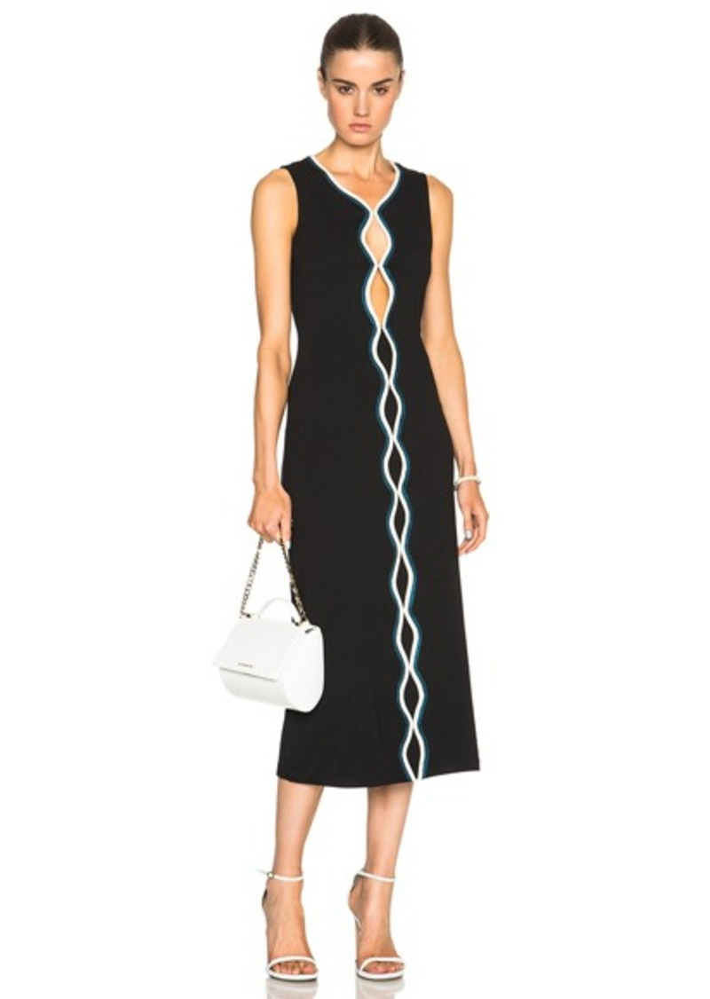 Opening Ceremony Piped Sleeveless Dress