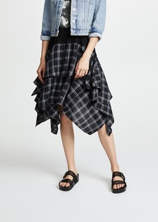 Opening Ceremony Plaid Mix Skirt