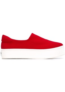 Opening Ceremony platform sneakers - Red