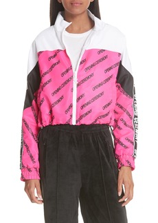 Opening Ceremony Print Crop Warm-Up Jacket (Limited Edition)