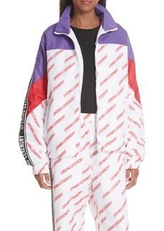 Opening Ceremony Print Nylon Warm-Up Jacket