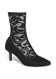 Opening Ceremony Women's Queen Stretch Lace Sock Bootie sxZXBKI