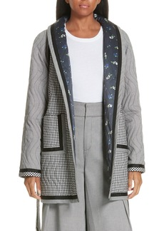 Opening Ceremony Reversible Patchwork Coat