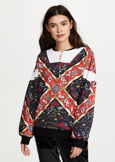Opening Ceremony Reversible Sorority Scarf Sweatshirt