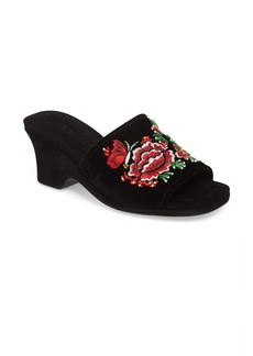 Opening Ceremony Sally Embroidered Slide Sandal (Women)