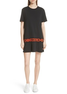 Opening Ceremony Stencil Logo T-Shirt Dress