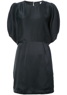 Opening Ceremony stone silk open back dress - Black