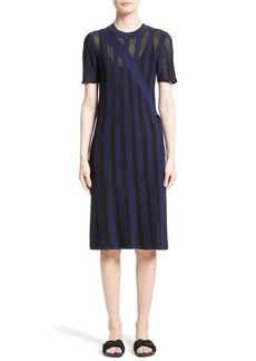 Opening Ceremony Stripe Knit Dress