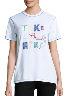 Opening Ceremony Take A Hike Embroidered Tee