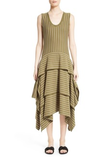 Opening Ceremony Tiered Stripe Dress