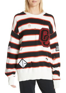 Opening Ceremony Varsity Stripe Sweater (Limited Edition)