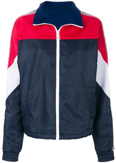 Opening Ceremony Warm Up windbreaker jacket - Blue