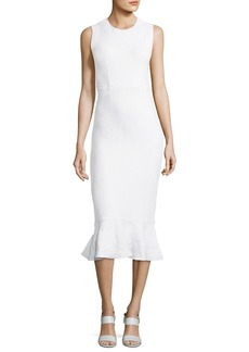 Opening Ceremony Wavy Lotus Striped Dress