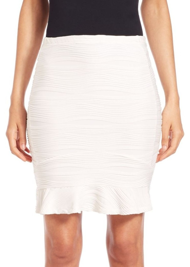 Opening Ceremony Wavy Stripe-Insert Skirt