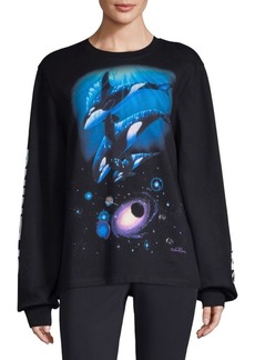 Opening Ceremony Whale Graphic Sweatshirt