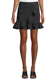 Opening Ceremony William Draped Ruffle Mini Skirt