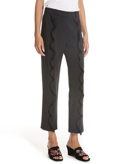 Opening Ceremony William Stretch Ruffle Pants