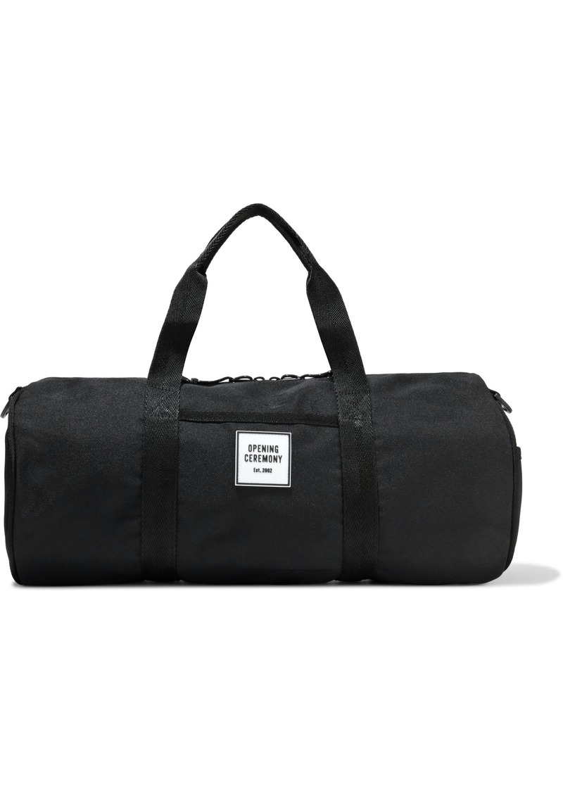 Opening Ceremony Woman Canvas Weekend Bag Black