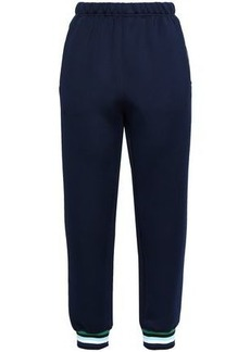 Opening Ceremony Woman Pleated Scuba Track Pants Navy