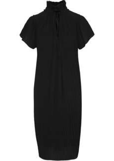 Opening Ceremony Woman Plissé-georgette Dress Black