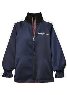 Opening Ceremony Woman Souvenir Reversible Satin-shell Jacket Navy
