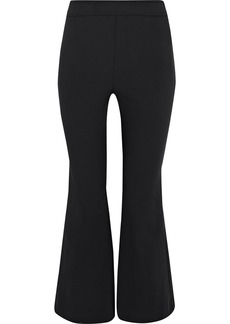 Opening Ceremony Woman William Crepe Kick-flare Pants Charcoal