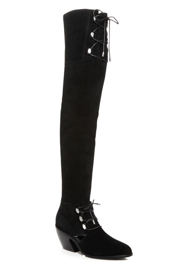 Opening Ceremony Women's Arielle Suede Over-the-Knee Boots