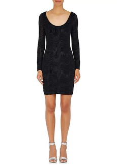 Opening Ceremony Women's Burnout Velvet Minidress