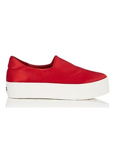 Opening Ceremony Women's Cici Satin Platform Sneakers