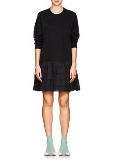 Opening Ceremony Women's Embroidered Cotton Terry Sweatshirt Dress