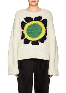 Opening Ceremony Women's Floral Intarsia-Knit Sweater