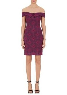 Opening Ceremony Women's Medallion Jacquard Minidress