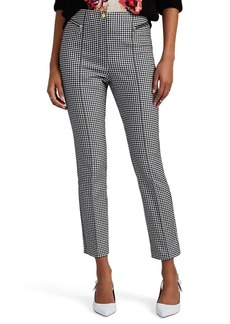 Opening Ceremony Women's Gingham Cotton-Blend Crop Trousers