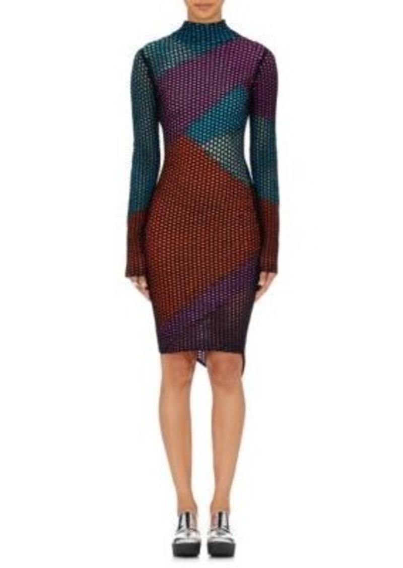 Opening Ceremony Women's Intarsia Sweaterdress-DARK GREY Size XS