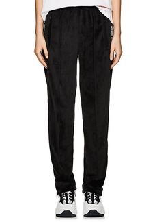 Opening Ceremony Women's Logo-Print Velour Track Pants