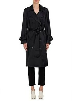 Opening Ceremony Women's Silk Satin Trench Dress