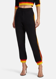 Opening Ceremony Women's Striped Cotton-Blend Drop-Rise Pants