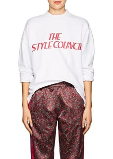 "Opening Ceremony Women's ""The Style Council"" Cotton Sweatshirt"