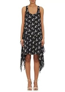 Opening Ceremony Women's Tiered Silk-Blend Sleeveless Dress