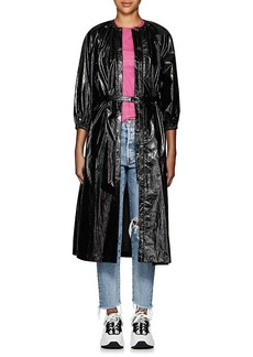 Opening Ceremony Women's Waxed Long Coat