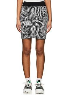 Opening Ceremony Women's Zebra Jacquard Miniskirt